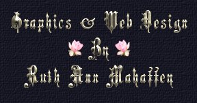 Graphic and Web Design by Ruth Ann Mahaffey